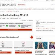 CHE Hochschulranking 2014
